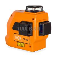 Лазерный построитель плоскостей  RGK PR-3D - купить в интернет-магазине www.toolb.ru цена и обзор