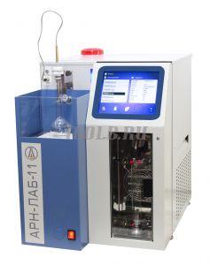 АРН-ЛАБ-11 - автоматический аппарат для определения фракционного состава нефти и нефтепродуктов